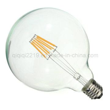 5.5W G125 Clear Dim Globe Shop Light LED Filament Lamp