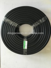 flame retardant solid hollow rubber seals
