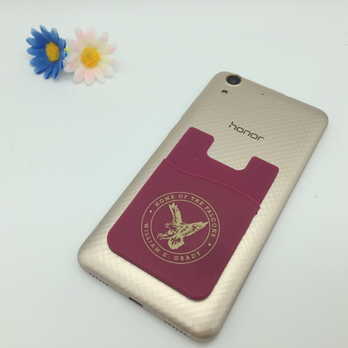 Silicon Phone Card Holder