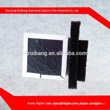 supply honeycomb type filter material activated carbon filter