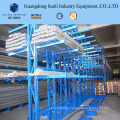 Long Conduits Warehouse Steel Storage Rack Shelving