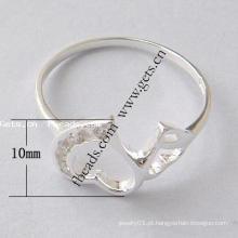 2105 Gets.com 925 prata esterlina peixe dedo anelar