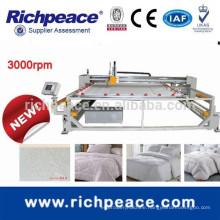 Industrial single needle mattress making quilting machine