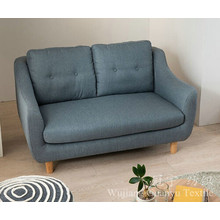 Le lin 100% de polyester de lin d'imitation regarde des tissus de sofa