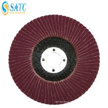 Disque abrasif de diamant de polisseur de polisseur, disque abrasif abrasif efficace d'alumine pour le bois