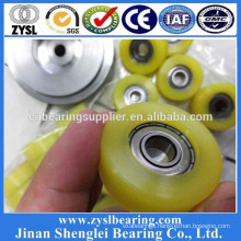 High quality U type wheel bearing 627z cabinet sliding door roller