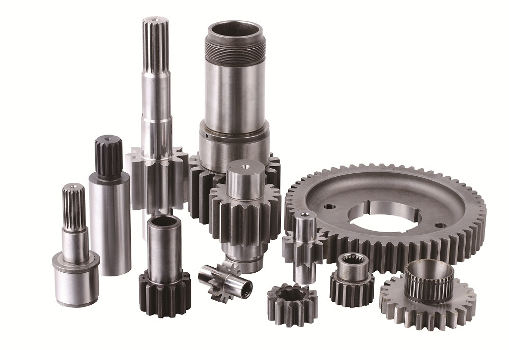 Machining Forging Transmission Gears in Different Size