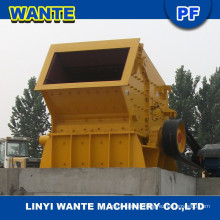 WANTE high capacity hazemag Impact Crusher in roadway, stone plant