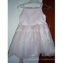 Пользовательские Оптовая платье девушки цветка AN1241