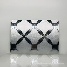 Espejo de pared de acrílico de diseño moderno decorativo