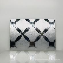 Espelho acrílico decorativo moderno para parede