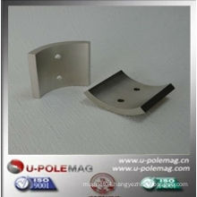 china manufacture N50 arc magnet