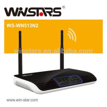 300Mbps Wireless N Wifi Router mit 2 abnehmbaren Antennen, Unterstützt UPnP, DDNS, statische Routing