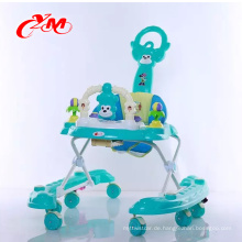 Großhandelsgeschenk-Babyspaß spielt das Lernen von Handkarren-Babywalkerteilen mit Licht / Babywandererporzellan / Qualitätswaren-Babywanderer 4 in 1