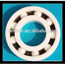 Si3N4 material da esfera de cerâmica cheio profundo do sulco Rolamento 6807CE para dispositivos Dental Use