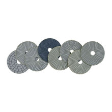 Plaque de polissage flexible à sec
