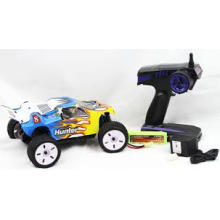 1 18 Escala 2.4G Eléctrico 4WD Coche Off-Road de Control Remoto de Plástico RC Truck Toys