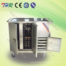 Тележка для пищевых продуктов из нержавеющей стали (THR-FC001)