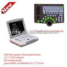Venta caliente B / W laptop máquina de ultrasonido y ultrasonido DW500