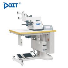 Máquina de coser doblada computarizada del CNC de la alta calidad DT 151, máquina plegable usful automática del zapato de la pu con buen precio