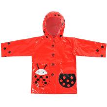 Cute Waterproof PU Kids Raincoats