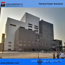 Caldera de incineración de residuos para central eléctrica