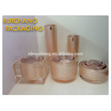 Косметический контейнер, фляга, акриловая кремовая баня / акриловая кремовая бутылка