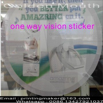 One Way Vision Window Film Sticker Decals