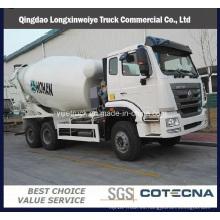Camión cisterna para mezcladora de vehículos especial Sinotruk Haohan 6X4
