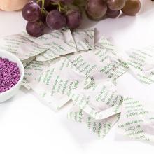 La bolsa de aditivos absorbente de etileno absorbe etileno