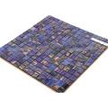 China Fabrik lila gemischt Hot - schmelzen Sie Mosaikfliese billig Bodenfliese