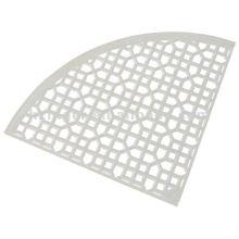 dessus de table de bâti de sable en aluminium, table en métal, pièce de meubles