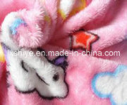 100polyester Soft Printed Coral Fleece for Baby/Bathrobe