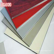 Scratch Resistant Composite Panel Fire Proof 4mm