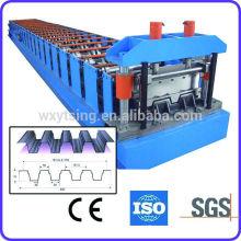 Pass CE & ISO-Authentifizierung YTSING-YD-0091 Roll Forming Deck Floor Machine