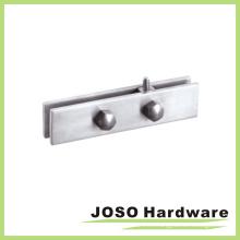 Ajuste superior del remiendo del acero inoxidable de Overpane con el pivote para la puerta de cristal