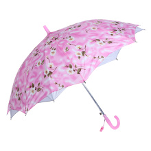 Double Layers Flower Printing Kid/Children/Child Umbrella (SK-19)