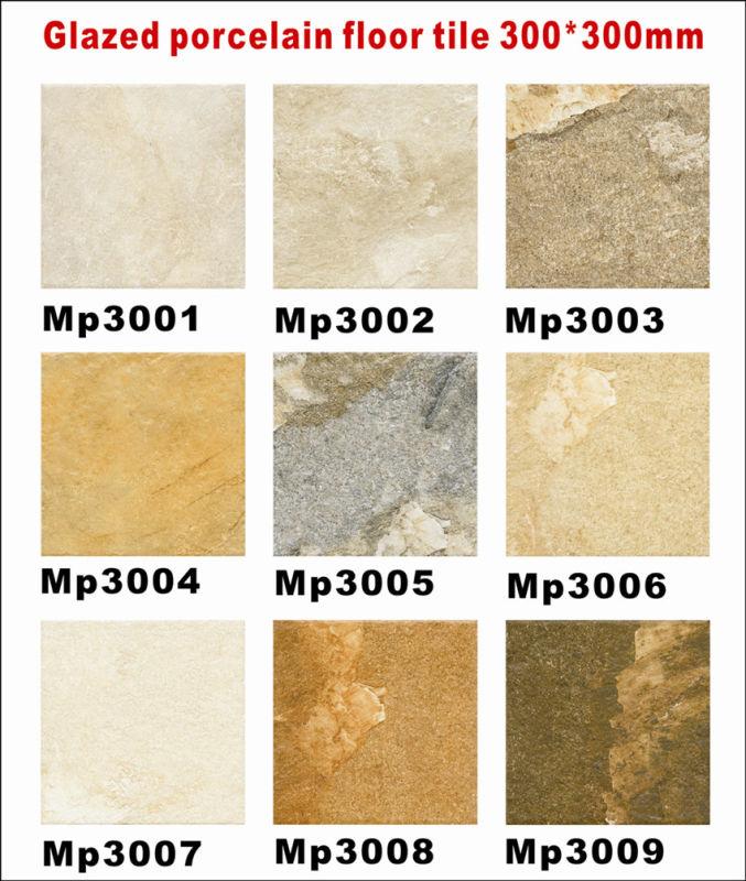 Remove rust from tile floor