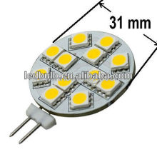 G4 side pin led caravan lamp 5050 SMD and boat light