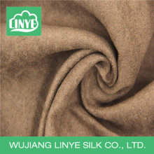 Custom printing polyester woven weft suede fabric for slipper
