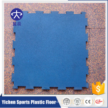 Yichen 15mm-30mm gym flooring interlocking rubber mats
