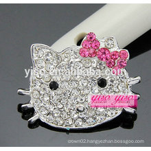 best selling lovely fashion cat brooch for girls