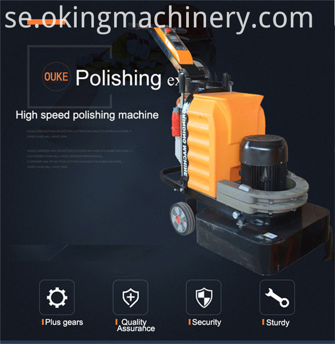 220V 380V Industrial Floor Polishing Machine