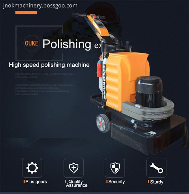 New Epoxy Flooring Tools Grinder Polishing Machine