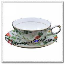 B161 200мл ями лист ивы чай чашки и блюдца 2 комплекта