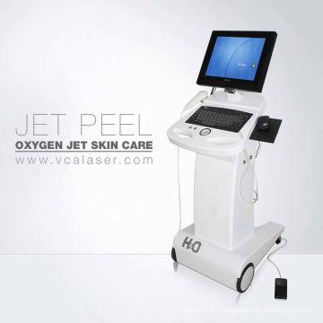 Machine multifonctionnelle de soin de peau jet peel instrument bio machine à oxygène