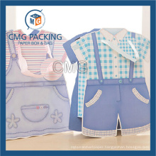 Children T-Shirt Shape Customized Paper Bag (DM-GPBB-156)