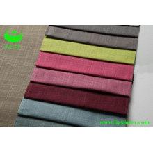 Tela de lino de lino de poliéster (BS6038)