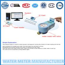 No Contact Sistema de gestión de Radio Frecuencia prepago agua medidor 15 mm-25 mm