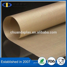 China supplier heat resistant PTFE teflon coated fiber glass cloth fabric for ironing board cover                                                                         Quality Choice